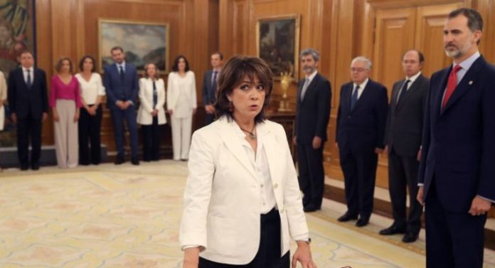 Ministra justicia dimision