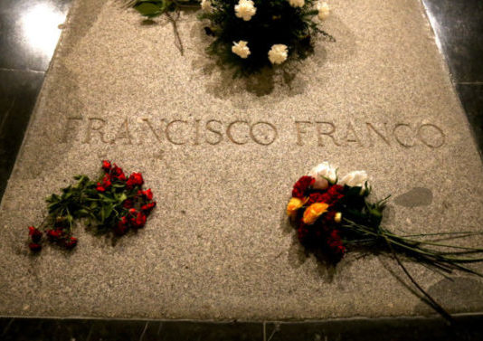 Franco exhumación