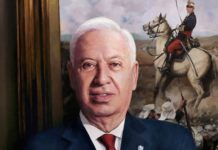 retrato margallo