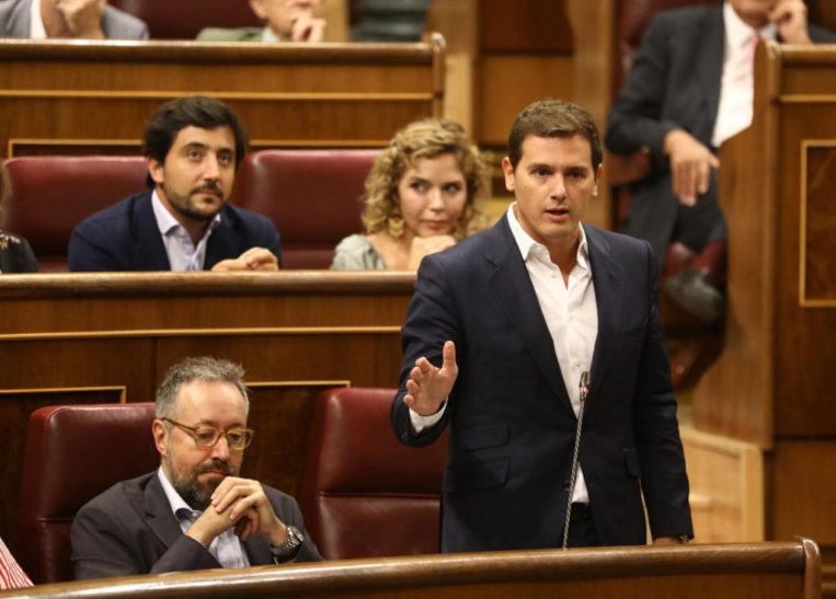 Sesión de control al Gobierno 1. Rivera-congreso
