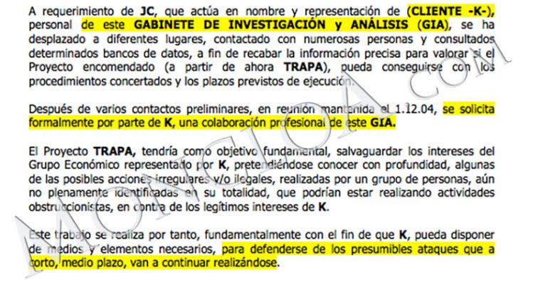 BBVA asegura que abrió una investigación interna sobre Villarejo en junio