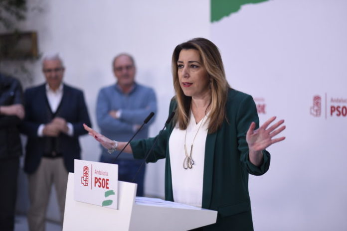 Susana Díaz, expresidenta de la Junta de Andalucía