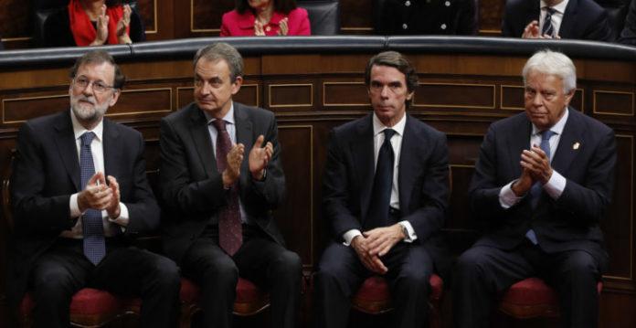 Expresidentes del gobierno sanchez