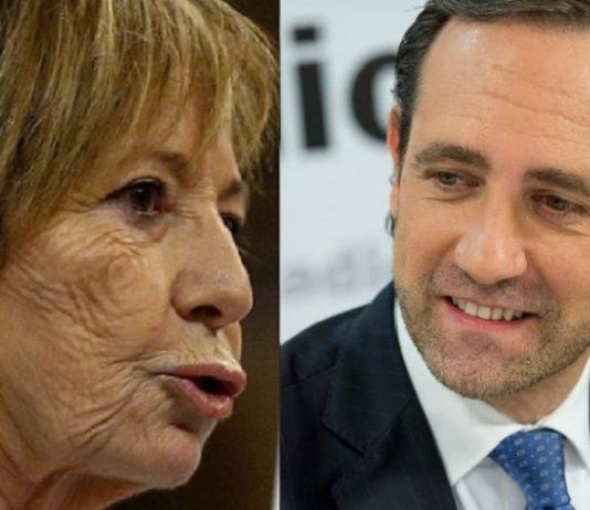 Celia Villalobos y Ramón Bauzá