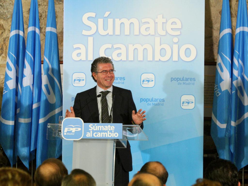 Francisco Granados, exsenador del PP