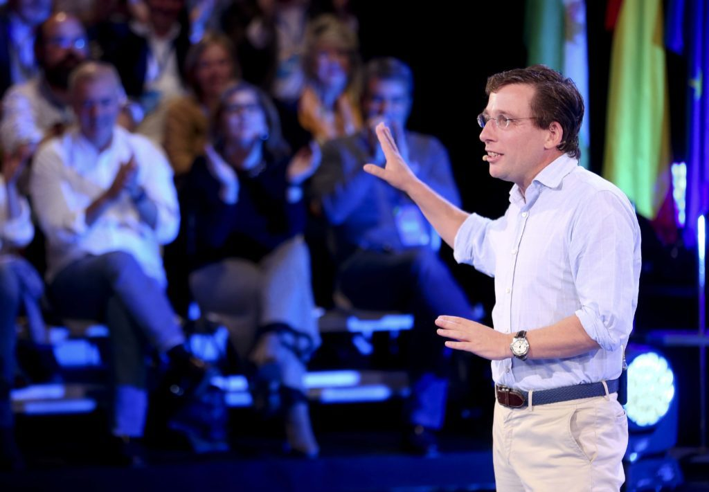 Jose Luis Martinez-Almeida, candidato popular a la alcaldía de Madrid