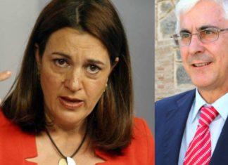 Soraya Rodríguez y José María Barrera (PSOE)