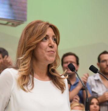 Suana Díaz, dirigente socialista en Andalucía