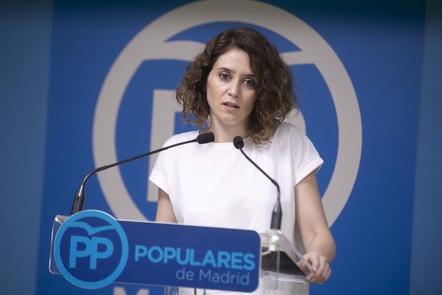 Isabel Diaz Ayuso, PP