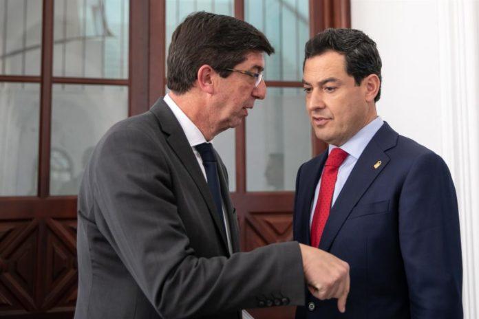 Presupuesto Andalucia PP-Cs