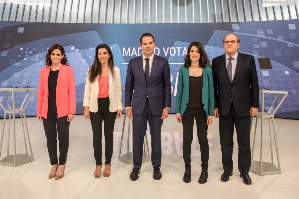 Candidatos Comunidad de Madrid