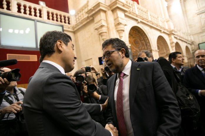 Vox negociación PP Andalucia