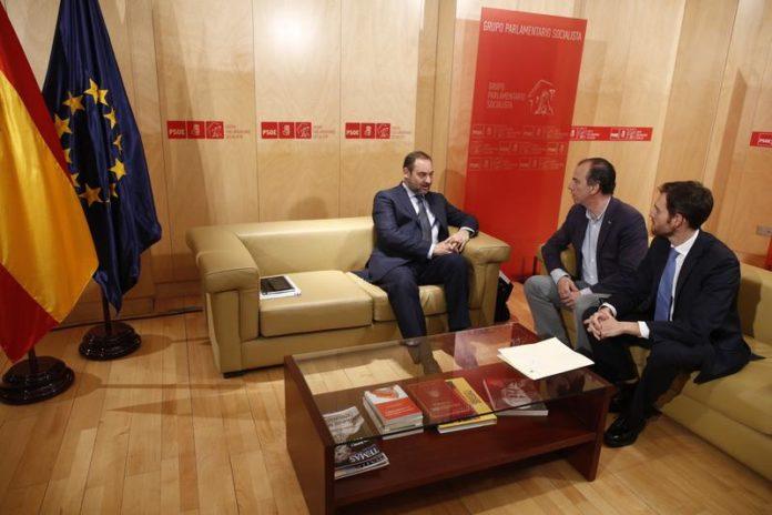 Ábalos, Sánchez, PSOE