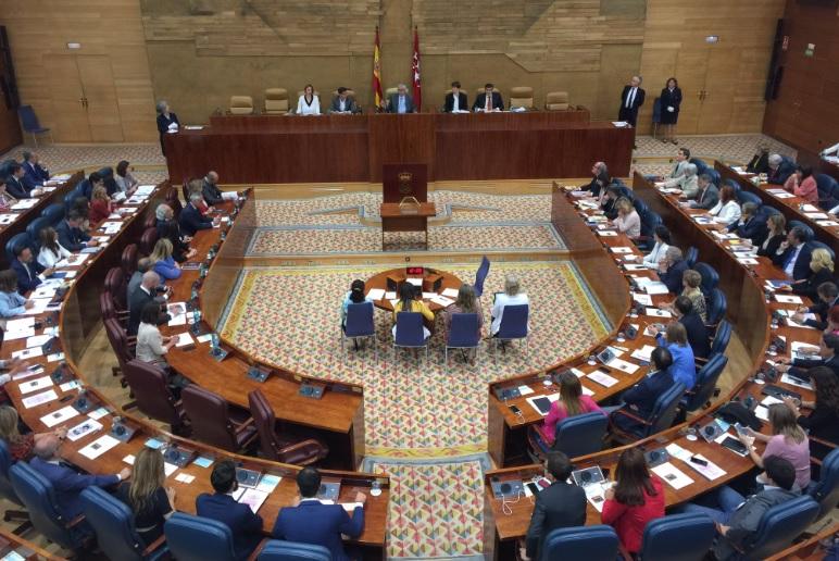 Asamblea Madrid parlamentos