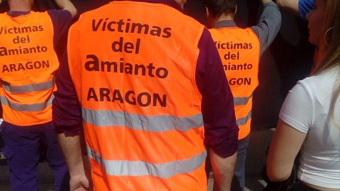 Víctimas del Amianto en Aragón. Foto: Plataforma 4A
