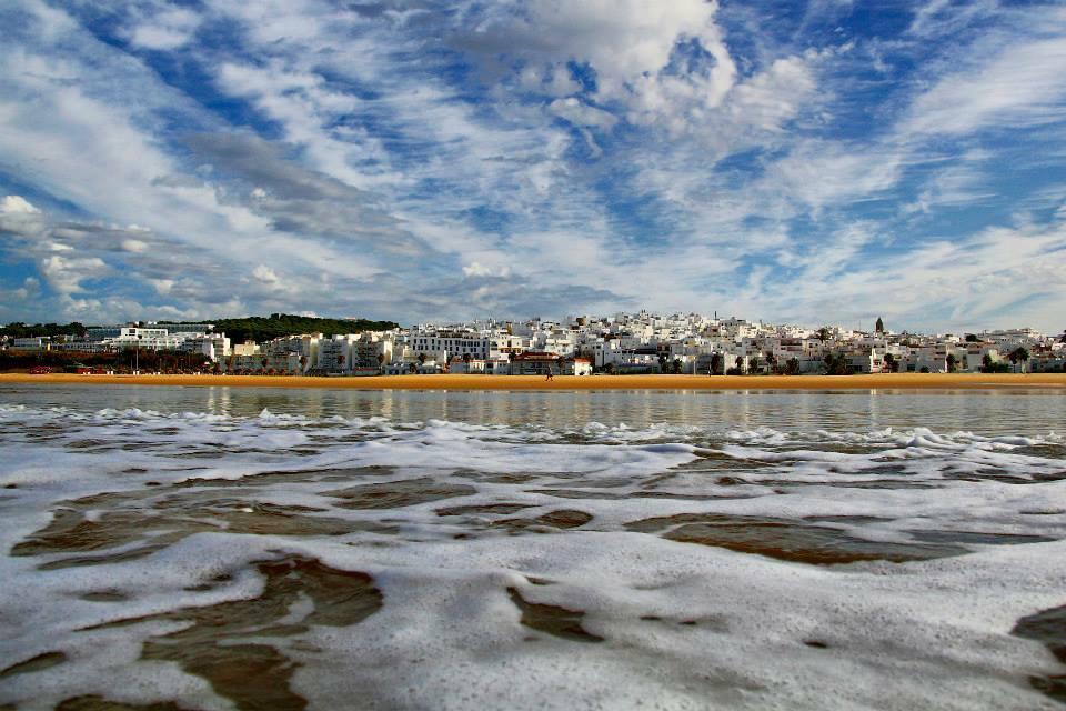 Playa de Conil. Foto: FB del Ayntamiento