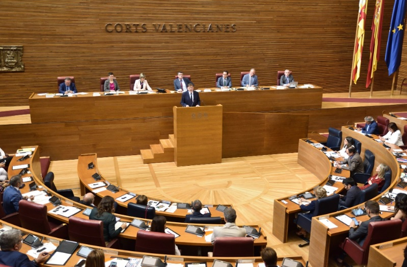 Cortes Valencianas parlamentos