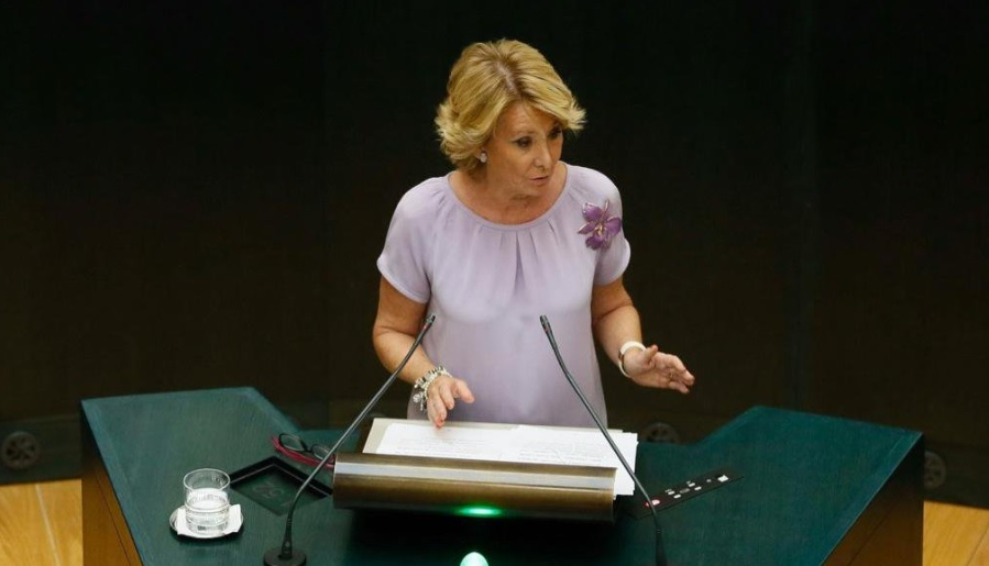 Esperanza Aguirre Macron