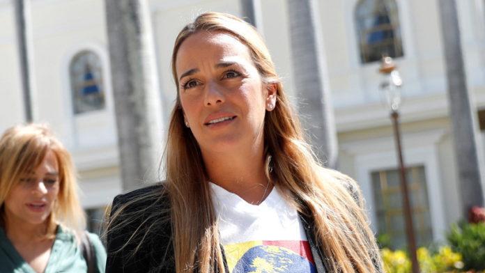 Lilian Tintori, esposa de Leopoldo López