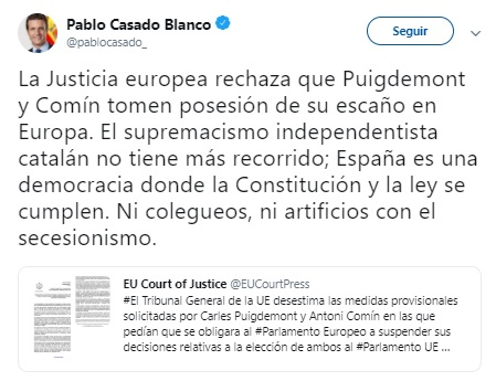 Casado Puigdemont