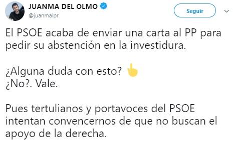JUANMA DEL OLMO PSOE