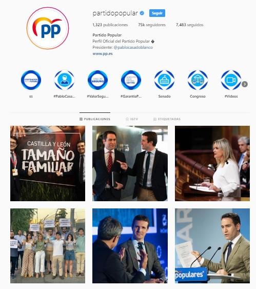 PP orgullo instagram