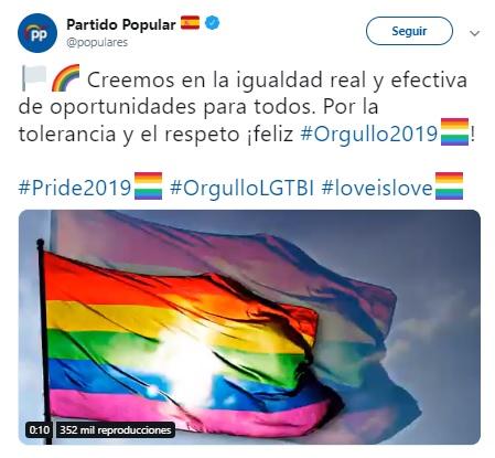 PP orgullo twitter