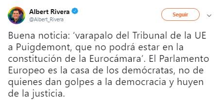 Rivera Puigdemont