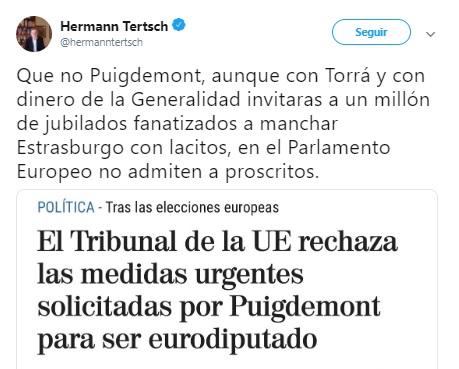 Tertsch Puigdemont