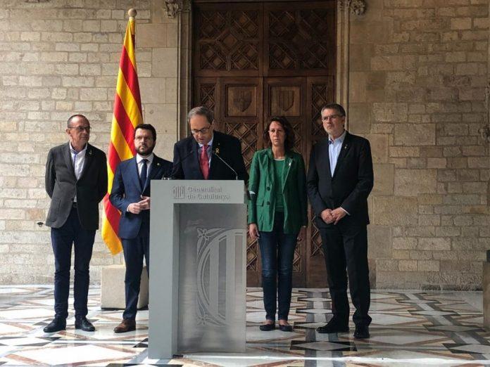 Torra urge Gobierno dialogar
