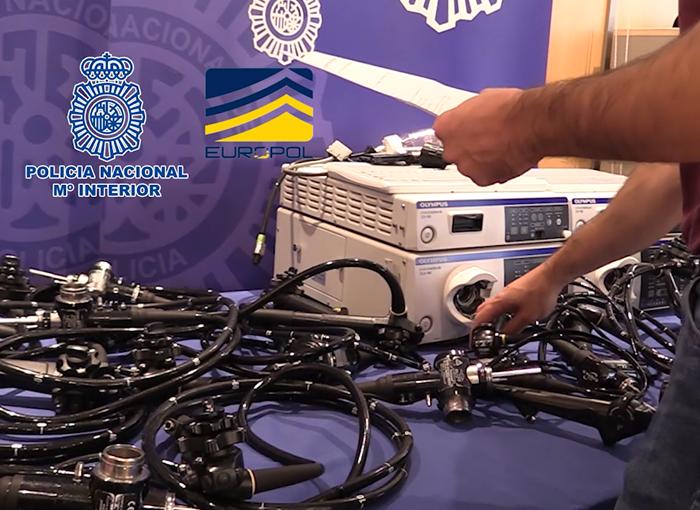 Detenidos en Madrid los autores de un robo de material médico en el hospital de Sagunto