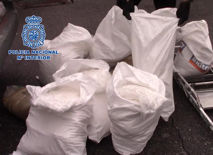 La Policía Nacional interviene en Madrid más de 100 kg de metanfetamina
