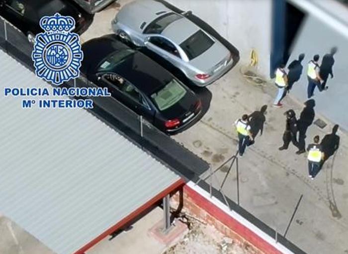 Desmantelada la mayor red criminal del levante español dedicada al tráfico de drogas y el blanqueo de capitales