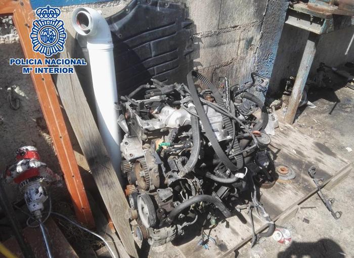 Desarticulada una banda de robo de vehículos para su posterior despiece en España