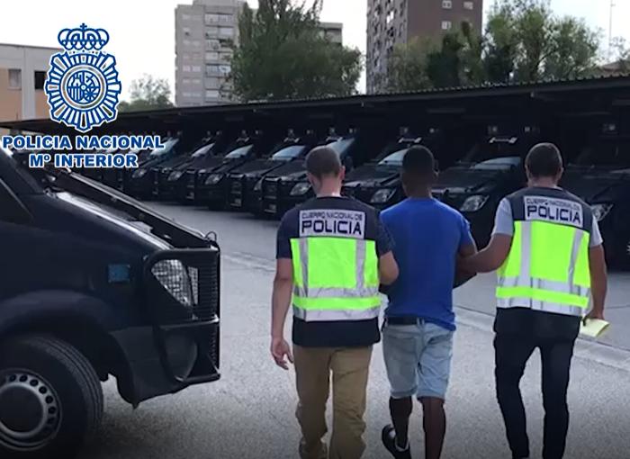La Policía Nacional detiene en Madrid a un miembro de la banda latina 'Dominican don't play'