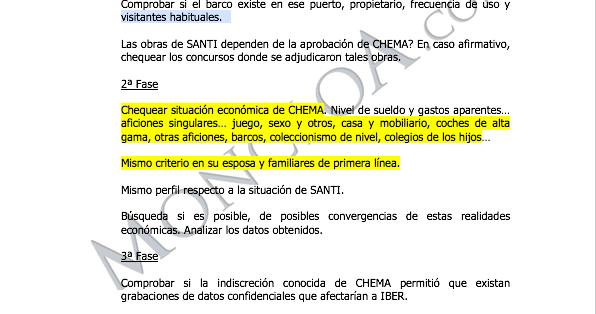 Villarejo Iberdrola directivo