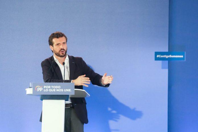Pablo Casado - vía constitucionalista - elecciones catalanas