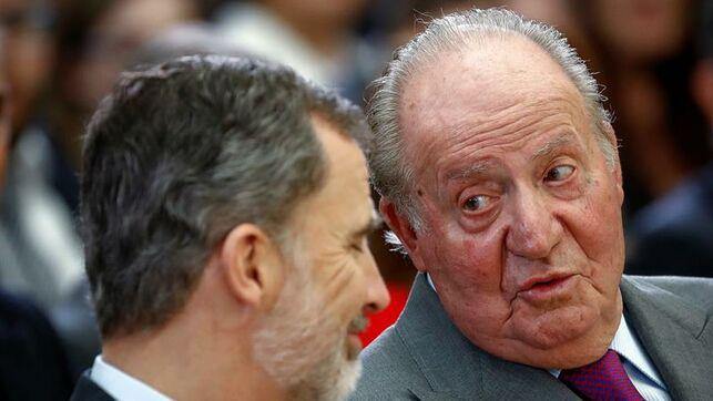 El rey accidentado, Don Juan Carlos reaparece con una nueva brecha - MONCLOA.COM