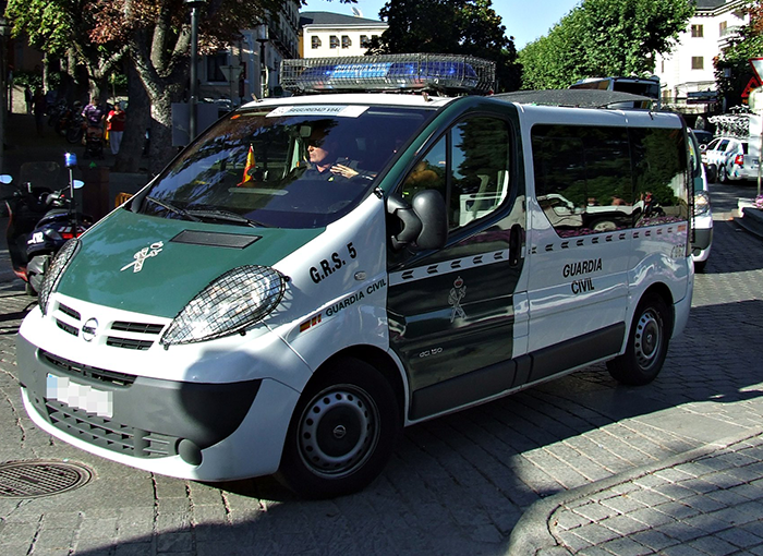 Detenido un hombre en Huelva por parte de la Guardia Civil