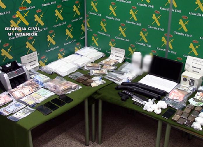 La Guardia Civil desmantea una organización dedicada al narcotráfico