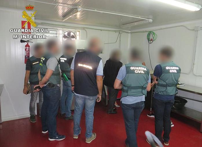 La Guardia Civil desarticula una organización criminal dedicada al narcotráfico en Toledo