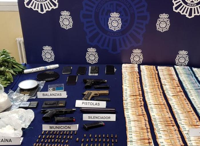 Desarticulada una banda de narcotraficantes de cocaína y speed en Zaragoza