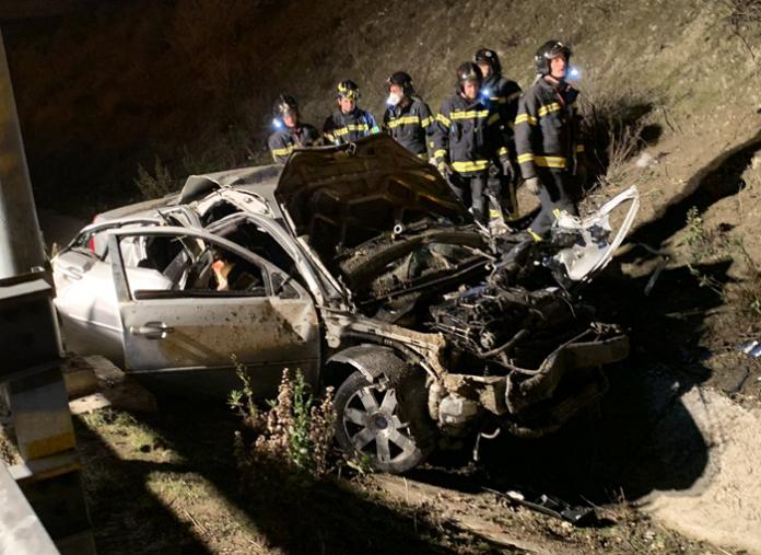 Tres fallecidos en un grave accidente en Madrid