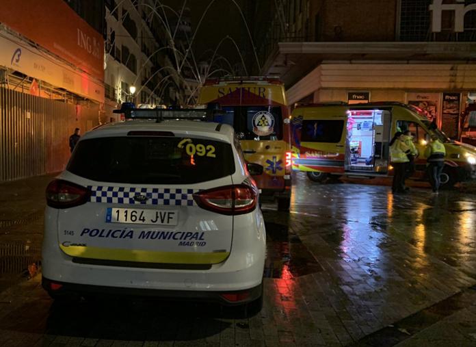 Muere un hombre de 65 años en Madrid al ser atropellado por un camión de limpieza