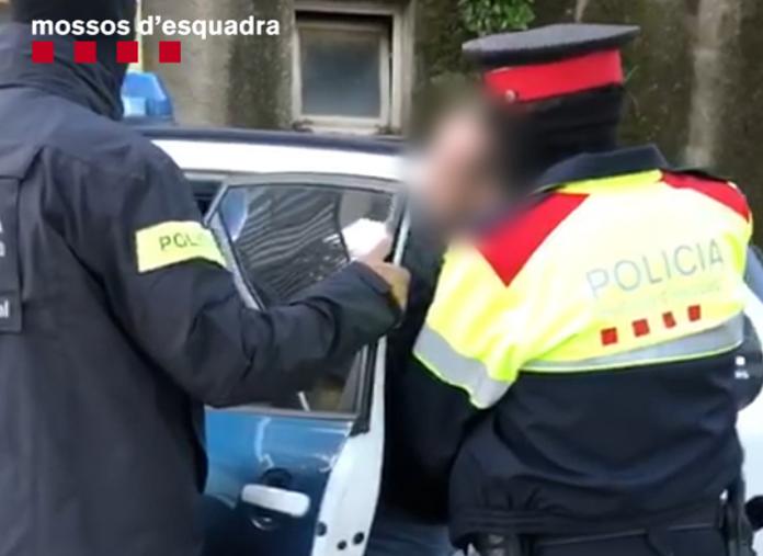 Los Mossos d'Esquadra desarticulan un grupo criminal de asaltantes muy violento