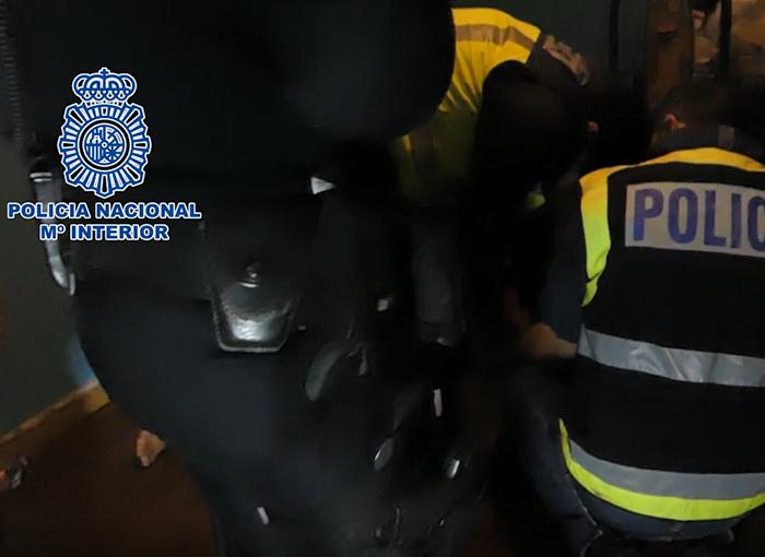 7 personas detenidas en Madrid por cometer 14 robos en menos de dos meses