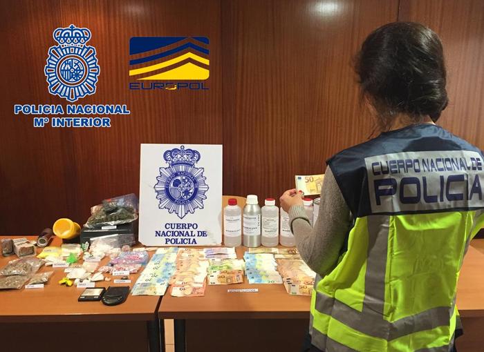 La Policía Nacional participa en una operación contra la falsificación de moneda
