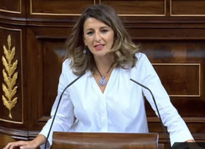 Yolanda Díaz es la favorita a ocupar el Ministerio de Trabajo