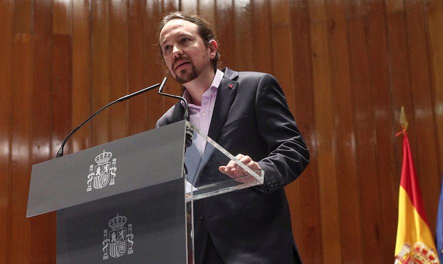 En el año 2015, Podemos irrumpe como tercera fuerza política en el Parlamento