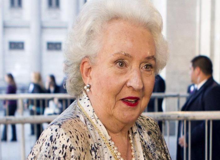 La infanta Pilar de Borbón será despedida en la intimidad